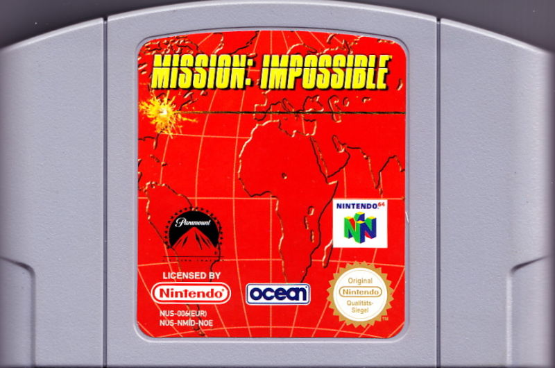 Mission: Impossible Nintendo 64 Media