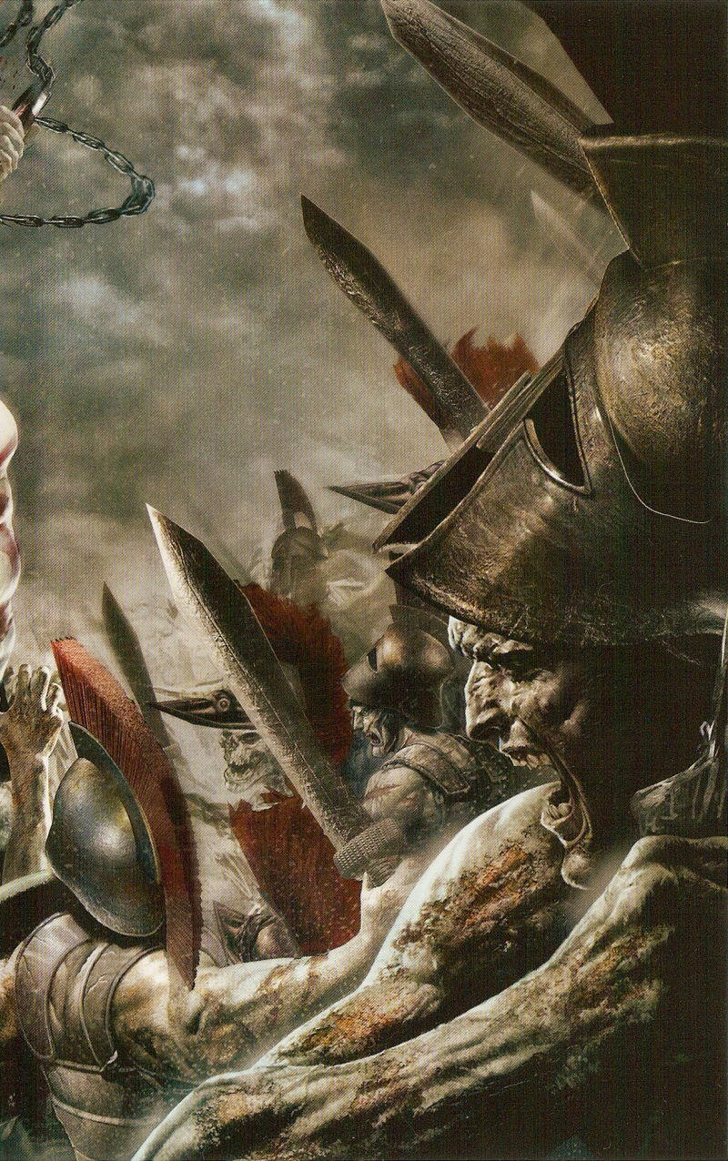 God of War: Chains of Olympus PSP Inside Cover Right