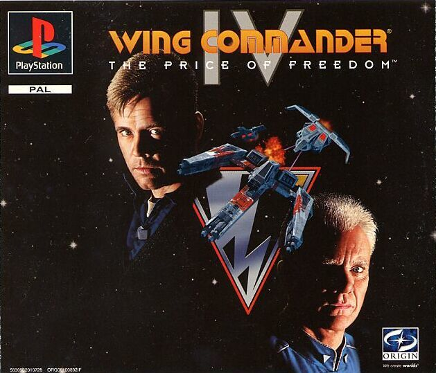 Wing Commander IV: The Price of Freedom PlayStation Front Cover