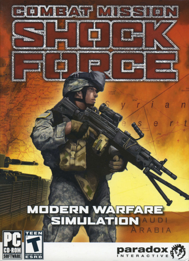 Combat Mission: Shock Force Windows Front Cover