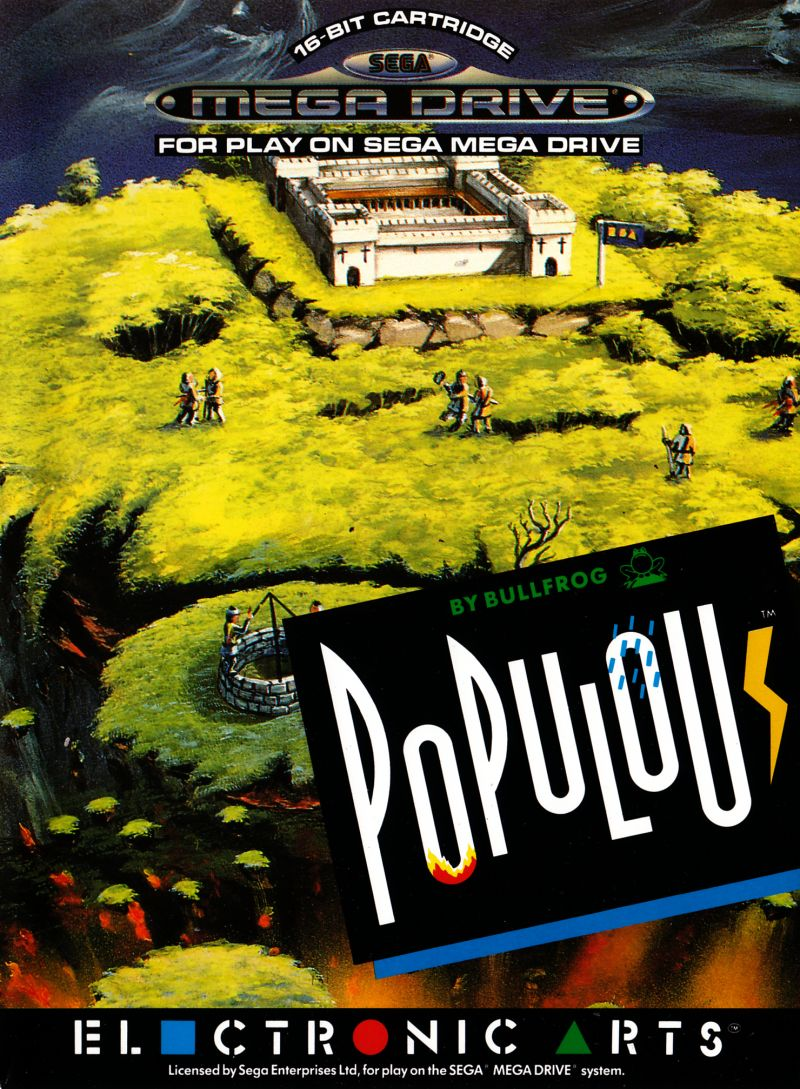 Populous Genesis Front Cover
