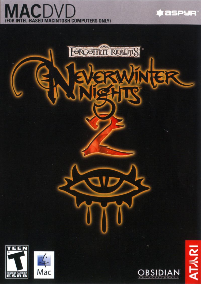 Neverwinter Nights 2 Macintosh Front Cover