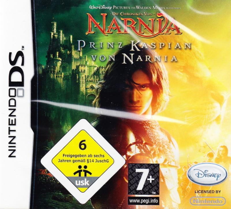The Chronicles of Narnia: Prince Caspian Nintendo DS Front Cover