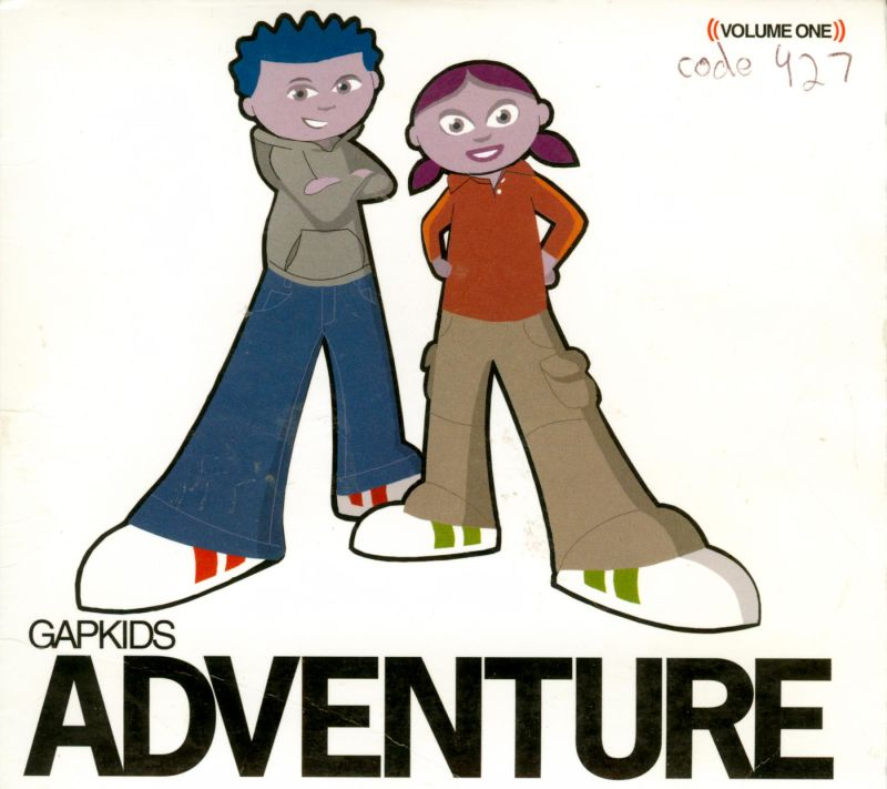 GapKids Adventure Macintosh Front Cover
