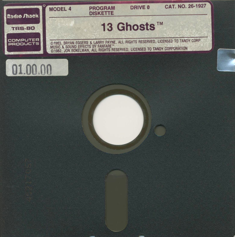 13 Ghosts TRS-80 Media