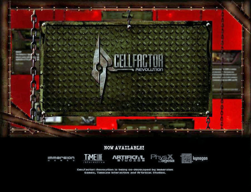 CellFactor: Revolution Windows Front Cover