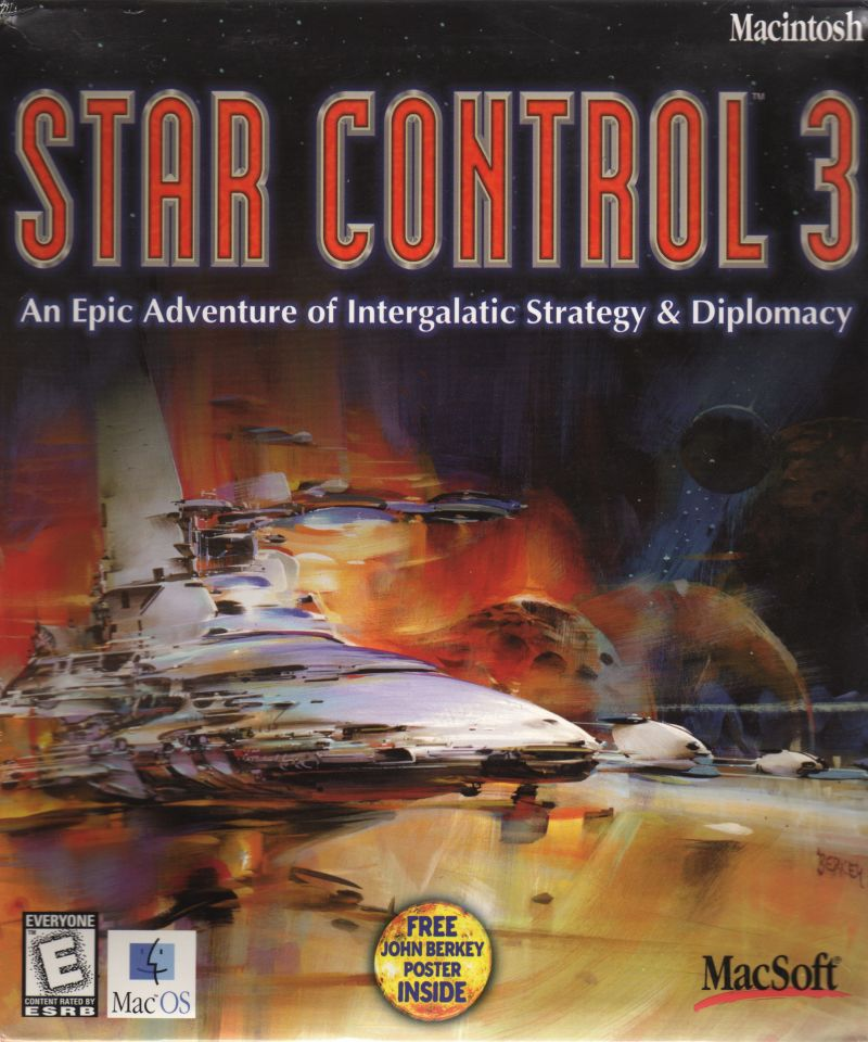 Star Control 3 Macintosh Front Cover