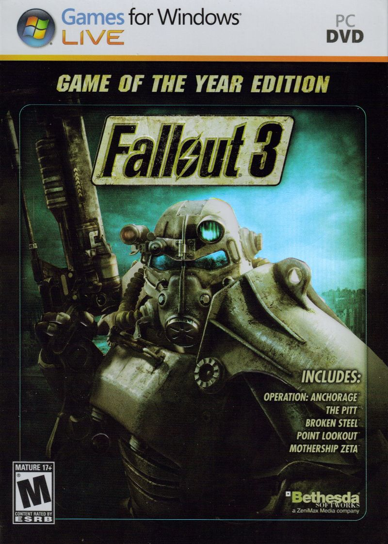 Fallout 3 Game Of The Year Edition Windows 10