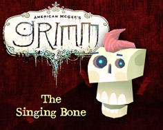 American McGee's Grimm: The Singing Bone Windows Front Cover