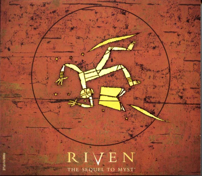 Riven: The Sequel to Myst Macintosh Other Jewel Case  - Front