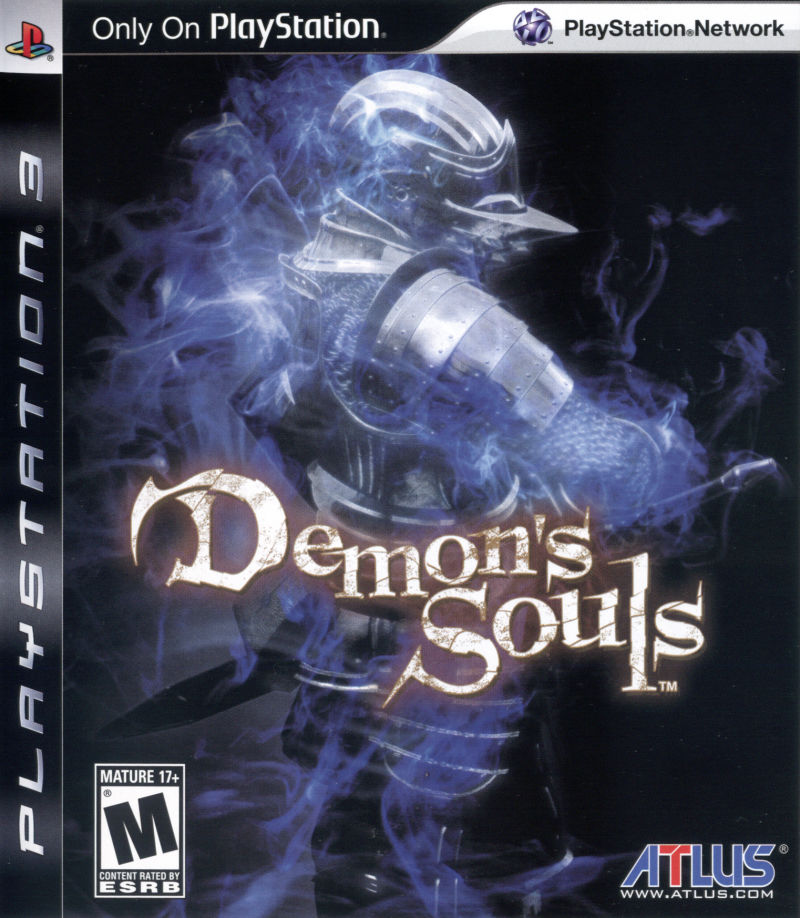 Demon's Souls PlayStation 3 Front Cover