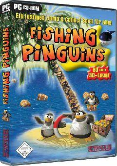 Fishing Pinguins Windows Front Cover