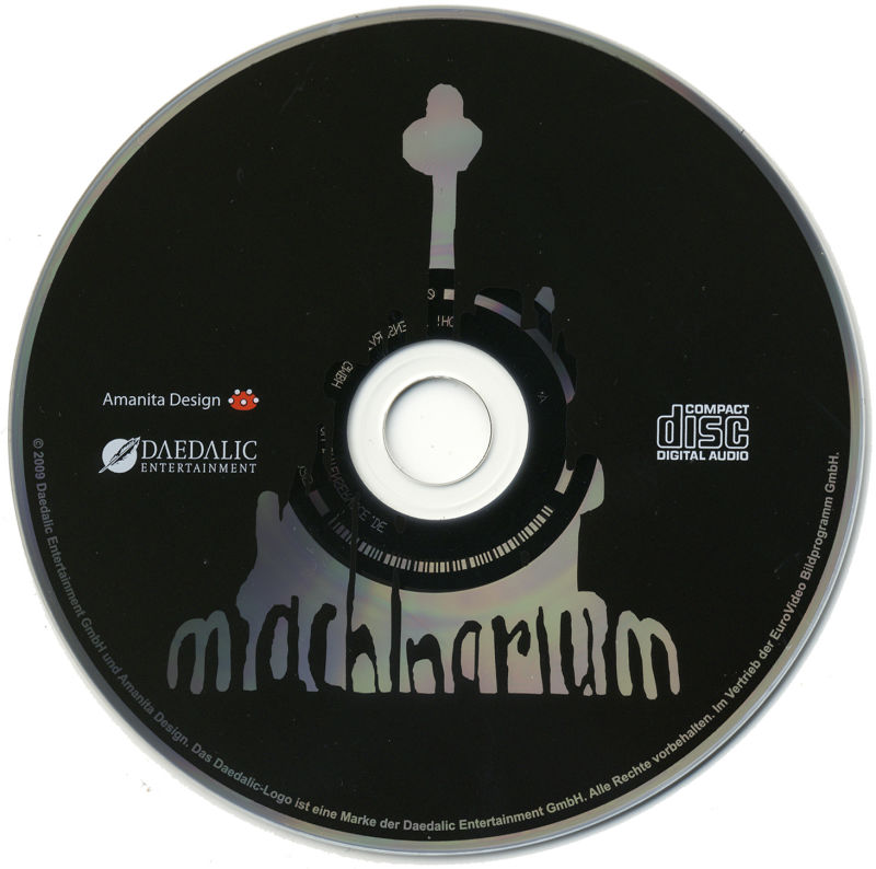 Machinarium Macintosh Media Soundtrack Disc