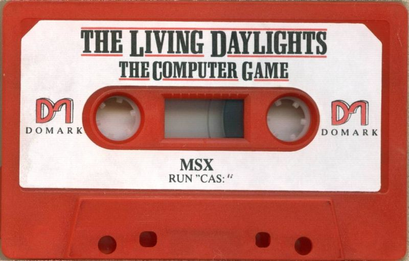 James Bond 007 in The Living Daylights: The Computer Game MSX Media