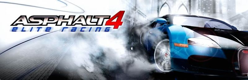 Asphalt 4: Elite Racing N-Gage (service) Front Cover