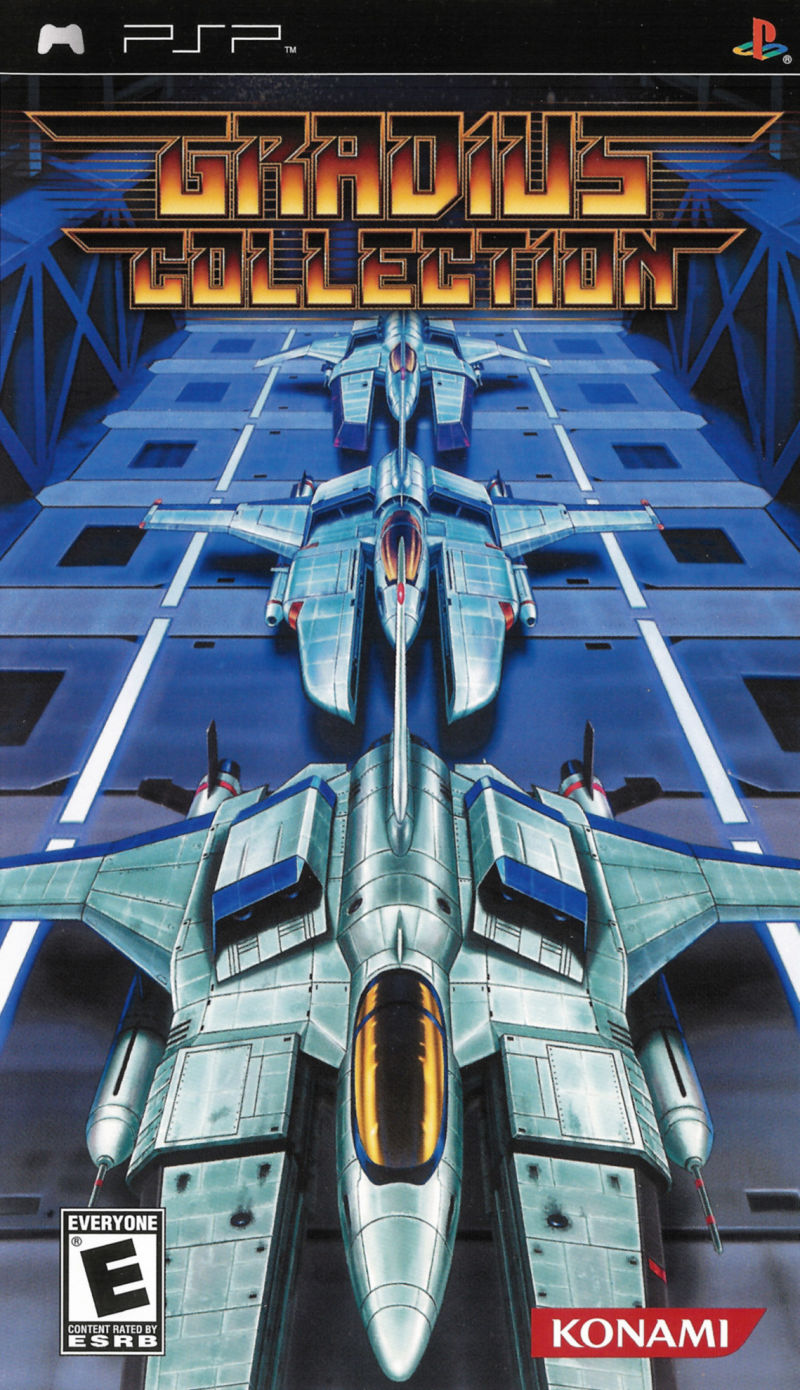 Gradius Collection PSP Front Cover