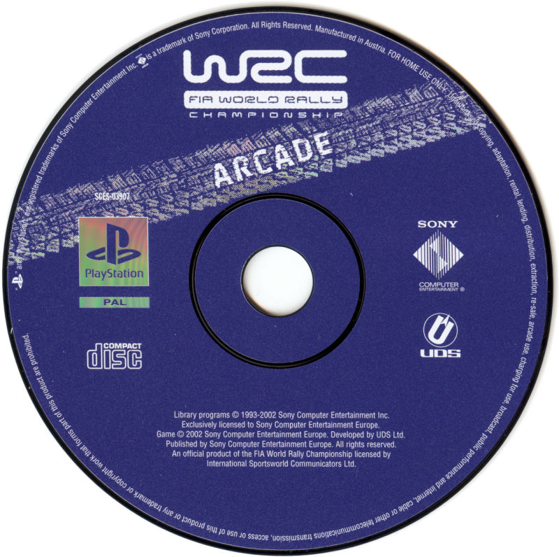WRC: FIA World Rally Championship Arcade PlayStation Media