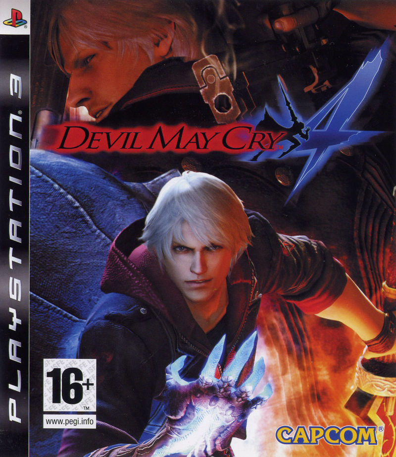 Devil May Cry 4 (2008) PlayStation 3 box cover art - MobyGames