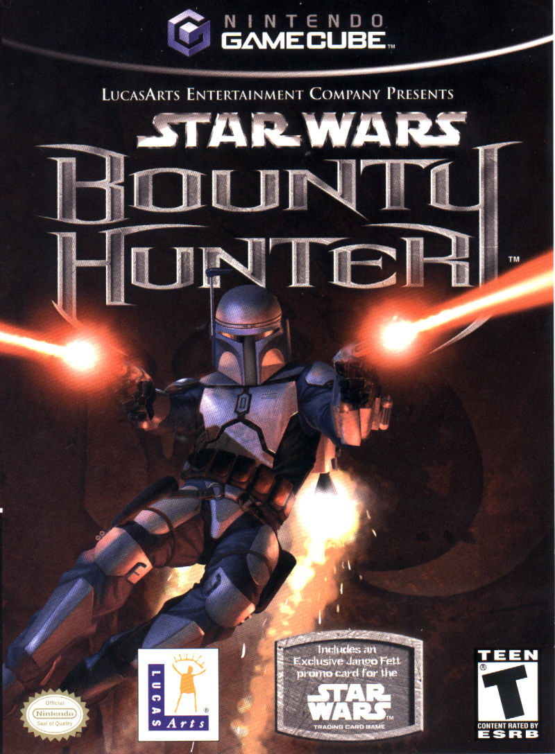 bounty hunter gamecube game box