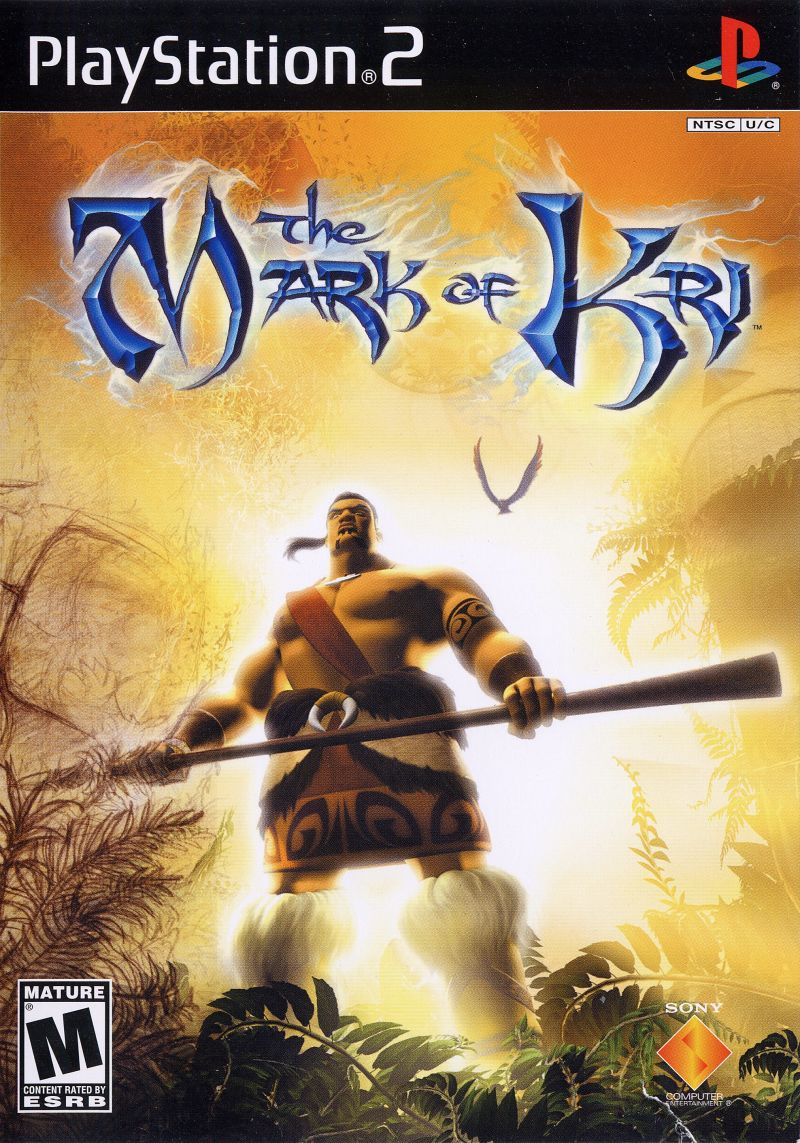 The Mark of Kri PlayStation 2 Front Cover