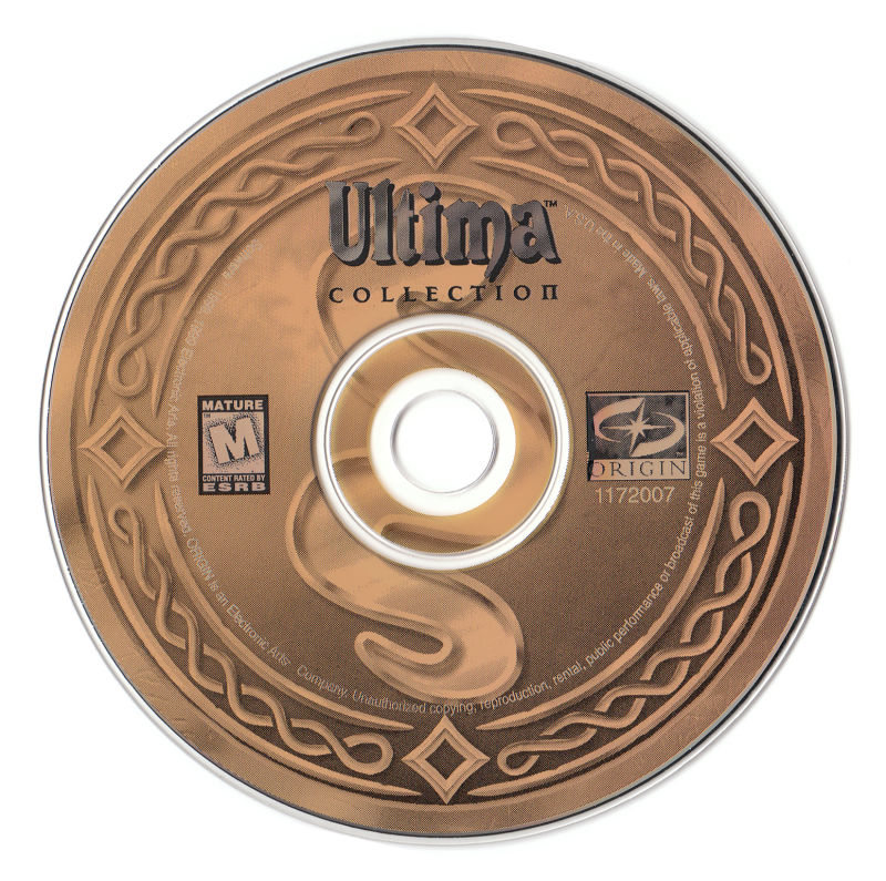 Ultima IX: Ascension (Dragon Edition) Windows Media Ultima Collection Disc