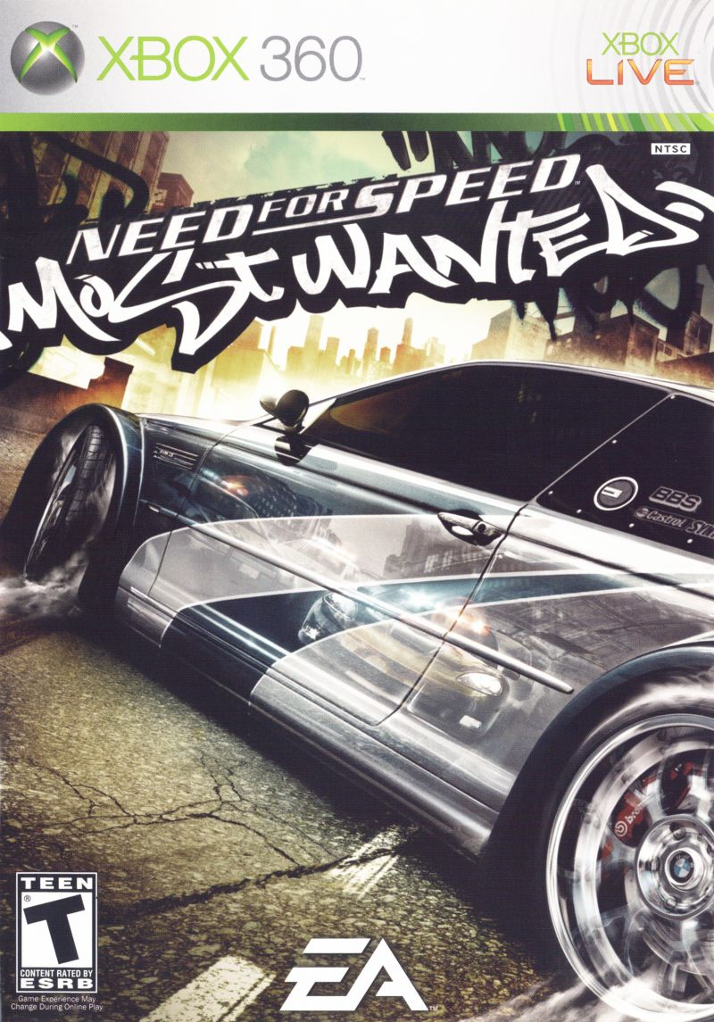 Need for speed: most wanted (microsoft xbox 360, 2005) | ebay.