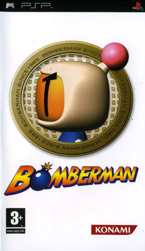 Bomberman PSP Front Cover