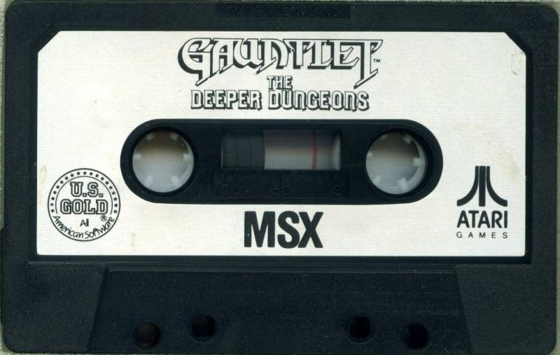 Gauntlet: The Deeper Dungeons MSX Media