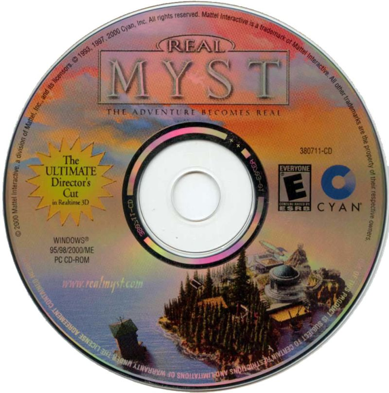 Real Myst Windows Media
