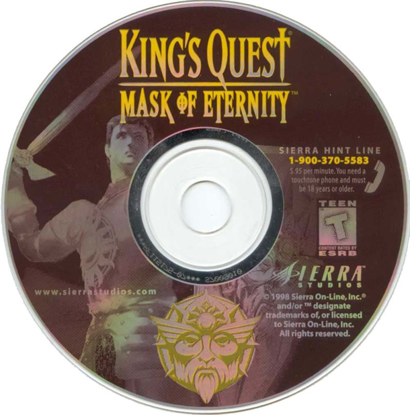 King's Quest: Mask of Eternity Windows Media