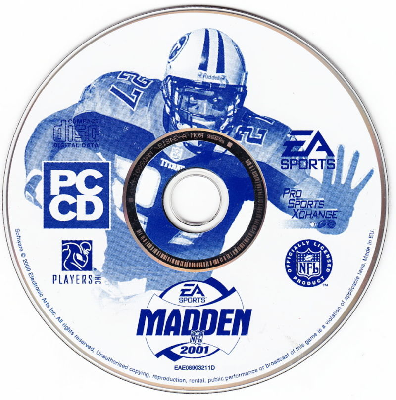 Madden NFL 2001 Windows Media
