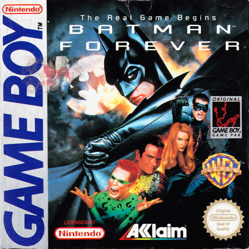 Batman Forever Game Boy Front Cover