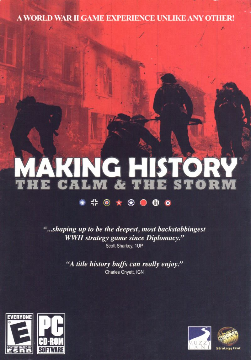 Making History: The Calm & The Storm Windows Front Cover