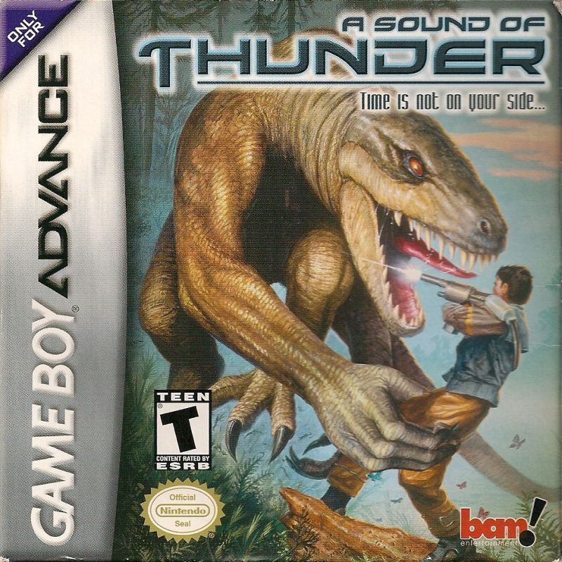 A Sound of Thunder Game Boy Advance Front Cover