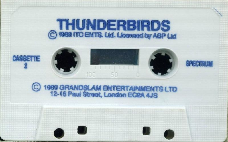 Thunderbirds ZX Spectrum Media