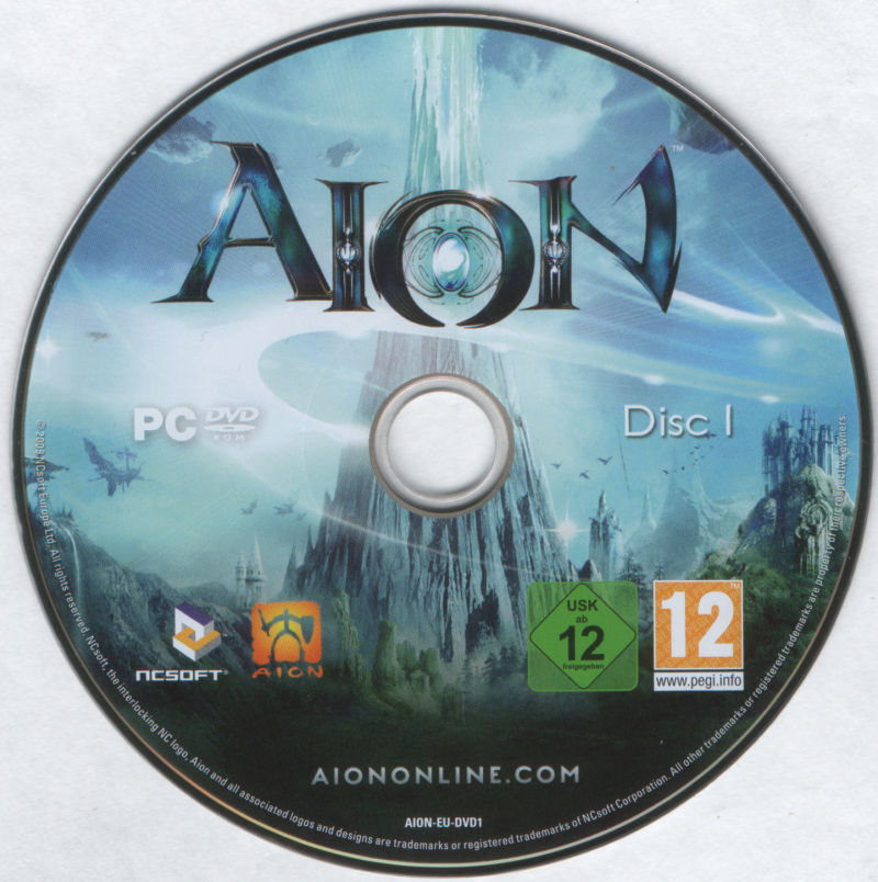 Aion Windows Media DVD 1/2