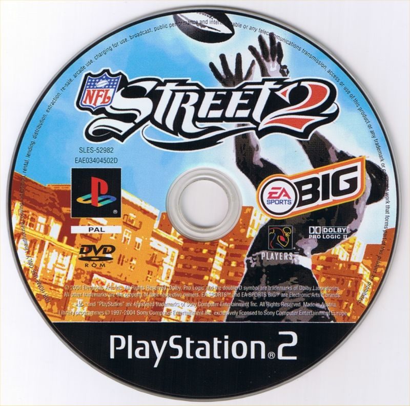 NFL Street 2 PlayStation 2 Media