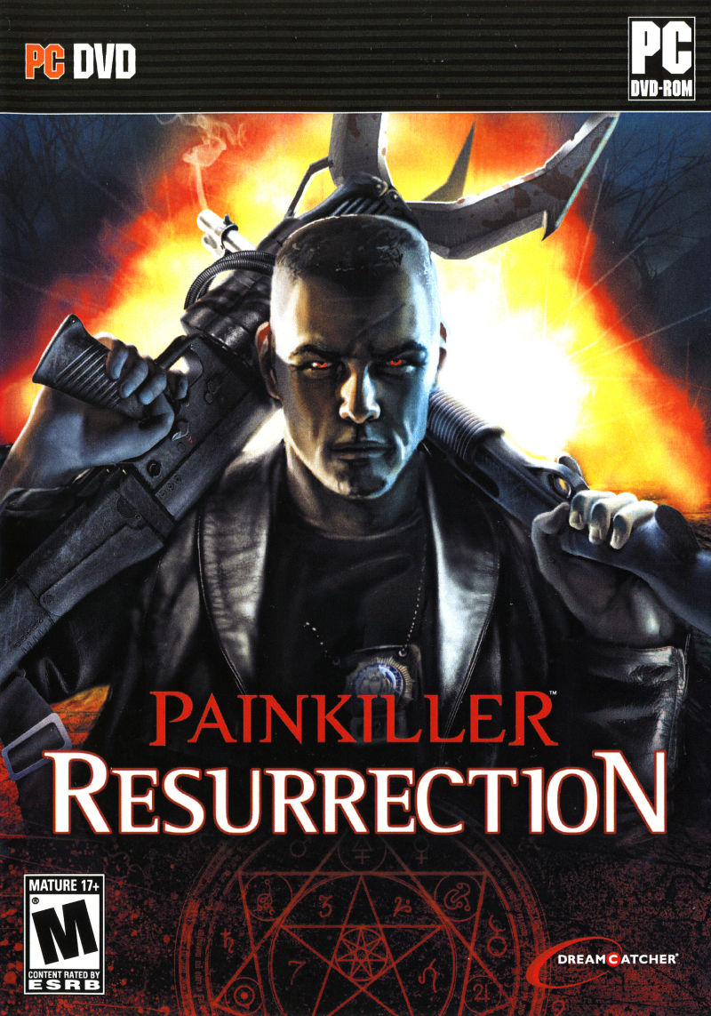 Painkiller: Resurrection Windows Front Cover
