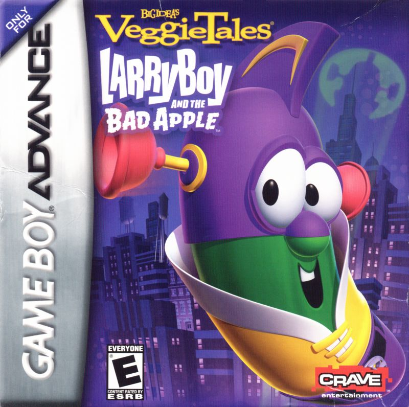 VeggieTales: LarryBoy and the Bad Apple for Game Boy Advance