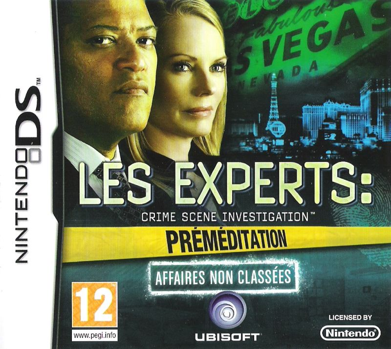 CSI: Crime Scene Investigation - Deadly Intent: The Hidden Cases Nintendo DS Front Cover