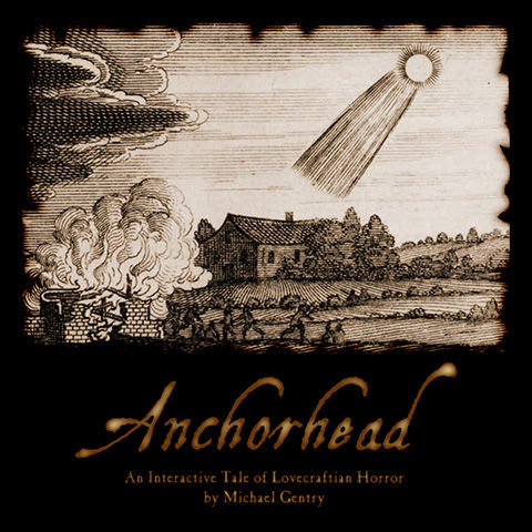 Anchorhead Z-machine Front Cover