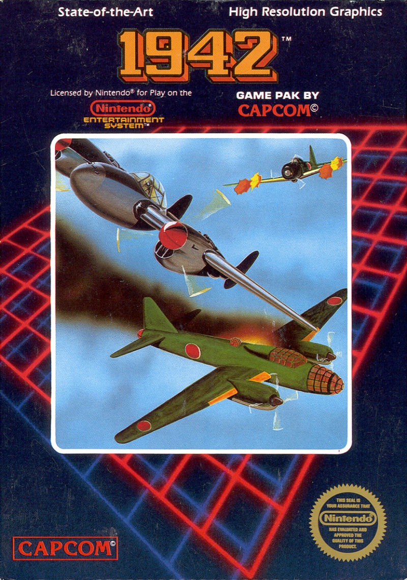 1942 NES Front Cover