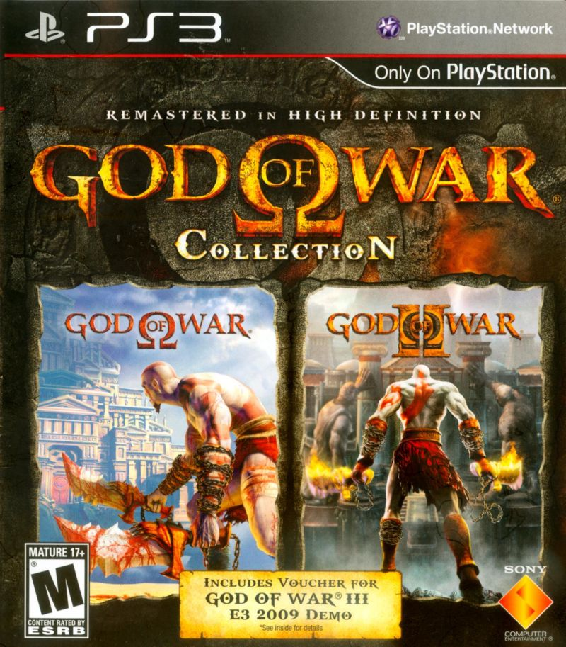 God of War: Collection PlayStation 3 Front Cover