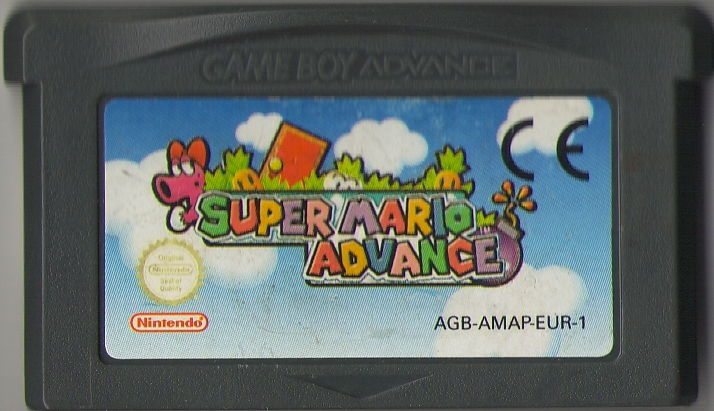 Super Mario Advance Game Boy Advance Media