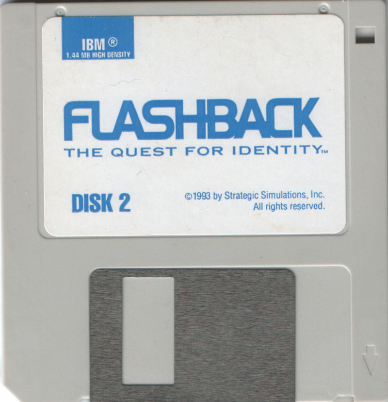 Flashback: The Quest for Identity DOS Media Disk 2/2