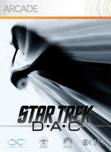 Star Trek: D-A-C Xbox 360 Front Cover