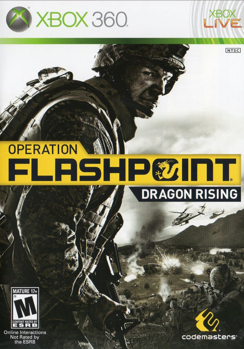 Operation Flashpoint: Dragon Rising for Xbox 360 (2009