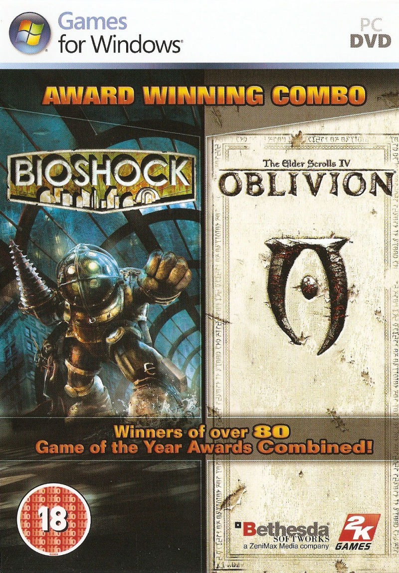 BioShock & The Elder Scrolls IV: Oblivion Bundle Windows Front Cover