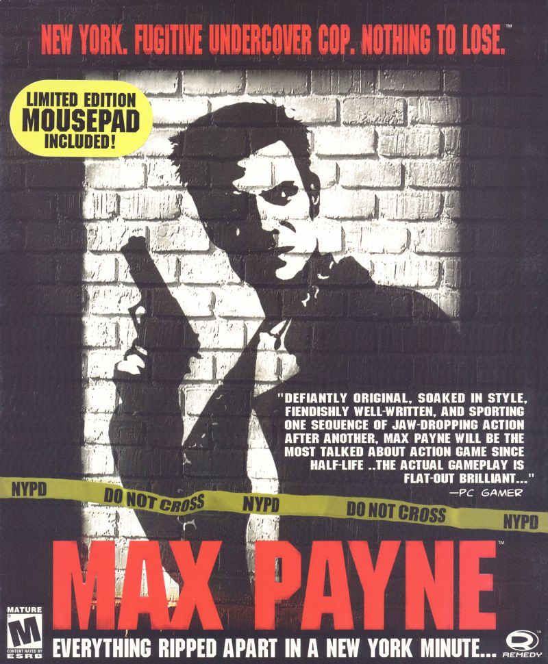 Max Payne 2001 Mobygames