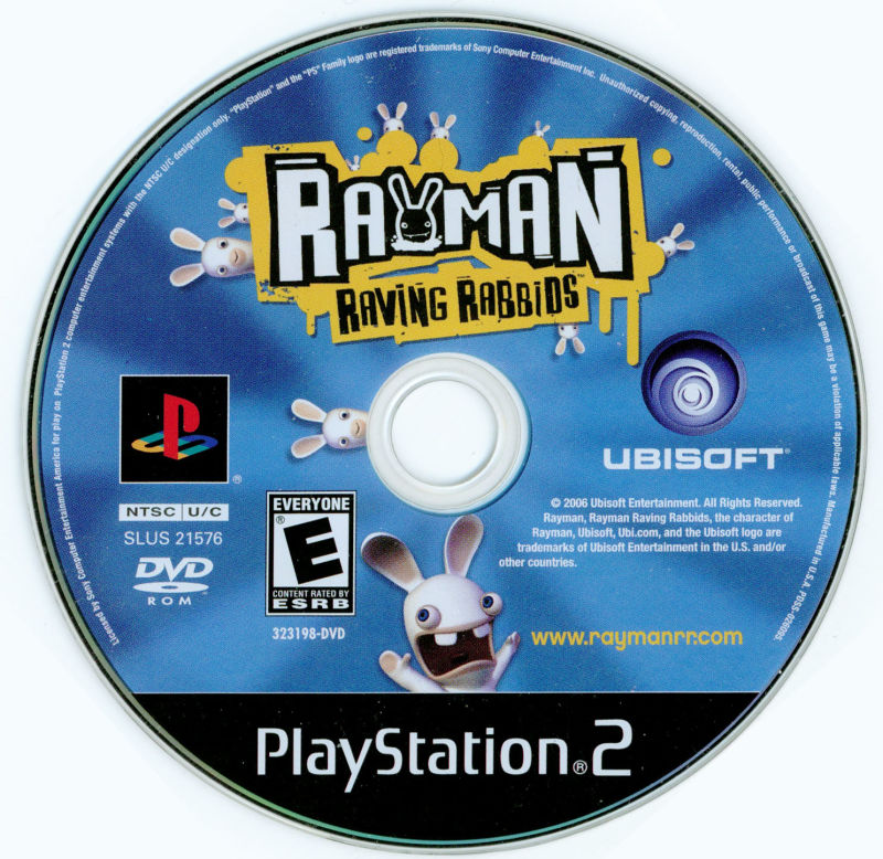 Rayman Raving Rabbids PlayStation 2 Media